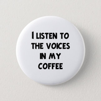 Coffee Lover T-shirts and Gifts Button