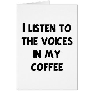 Coffee Lover T-shirts and Gifts Card