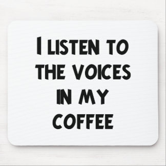 Coffee Lover T-shirts and Gifts Mouse Pad