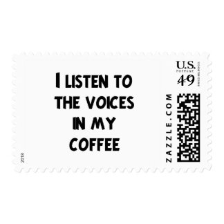 Coffee Lover T-shirts and Gifts Postage Stamps