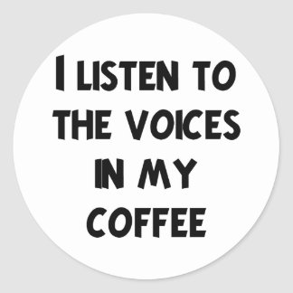 Coffee Lover T-shirts and Gifts Classic Round Sticker