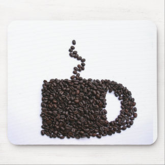 Coffee Lover Unique Personalized Gift Present Mouse Pad