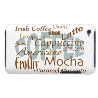 Coffee Lover-word cloud iPod Case-Mate Case
