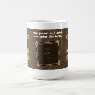 Coffee Lover - World's #1 Coffee Drinker - Photo Mug