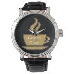 Coffee Lover Wristwatch