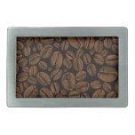 Coffee Lovers Beans Galore Design Rectangular Belt Buckles