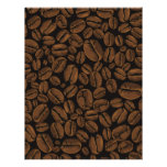 Coffee Lovers Beans Galore Design Custom Letterhead