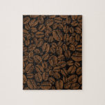 Coffee Lovers Beans Galore Design Puzzle