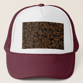 Coffee Lovers Beans Galore Design Trucker Hat