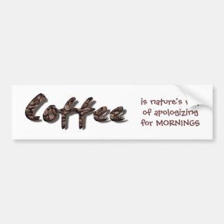 Coffee Lovers Bumper Sticker