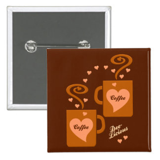Coffee Lovers button customize