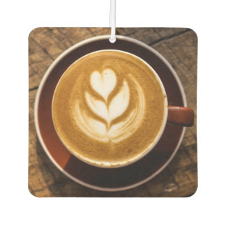 Coffee Lover's car air freshner Car Air Freshener