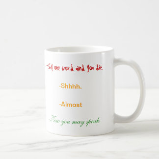Coffee lover's Cup