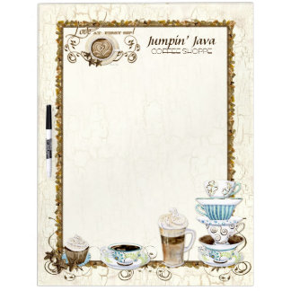 Coffee Lovers Custom Bistro Restaurant Menu Board