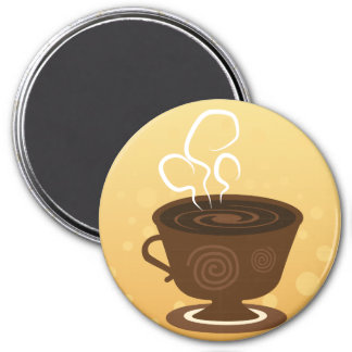 Coffee Lovers Fridge Magnet