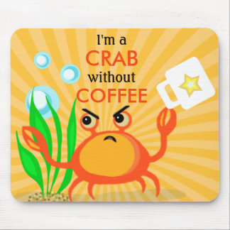 Coffee Lover's Funny Mouse Pad Mousepad