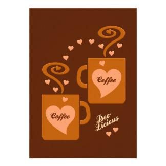 Coffee Lovers invitation customize