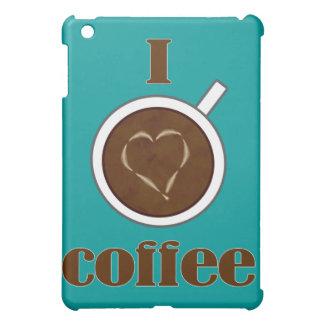 Coffee Lover's Latte Heart iPad Mini Case
