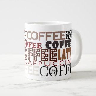 Coffee Lovers Mega Mugs 20 Oz Large Ceramic Coffee Mug