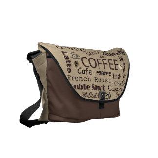 Coffee Lovers Messenger Bag