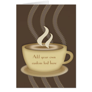 Coffee Lovers Notecards Card
