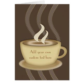 Coffee Lovers Notecards Card