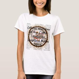 Coffee Lovers of America by Jeronimo Rubio T-Shirt