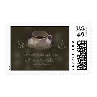 Coffee Lover's Postage Stamp