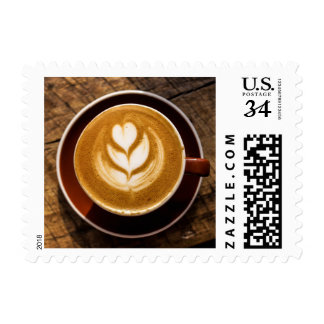 Coffee Lover's postage stamps