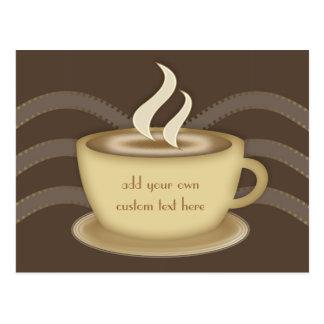 Coffee Lovers Postcard