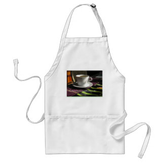 Coffee lover's quote apron