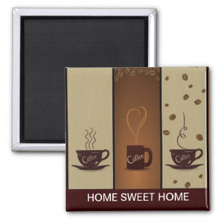 Coffee Lovers Refrigerator Magnet