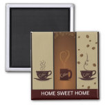 Coffee Lovers Refrigerator Magnet Fridge Magnet