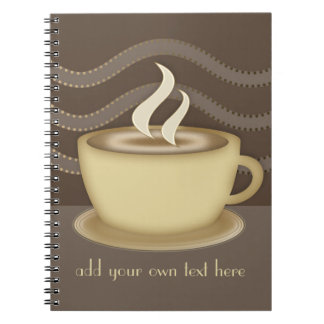 Coffee Lovers Spiral Note Books
