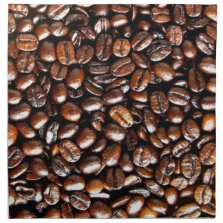 Coffee Lovers Whole Bean Collage Napkins