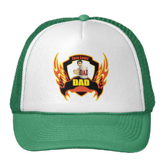 Coffee Loving Dad Fathers Day Gifts Mesh Hat