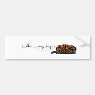 Coffee Loving Skeptic stuff! Bumper Sticker