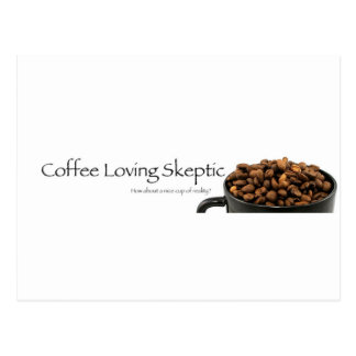 Coffee Loving Skeptic stuff! Postcard