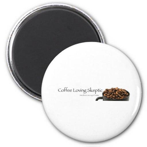 Coffee Loving Skeptic stuff! Refrigerator Magnet