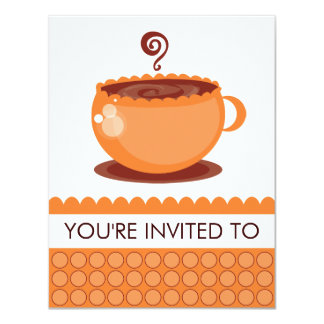 Coffee Luncheon or Garden Party Invitations