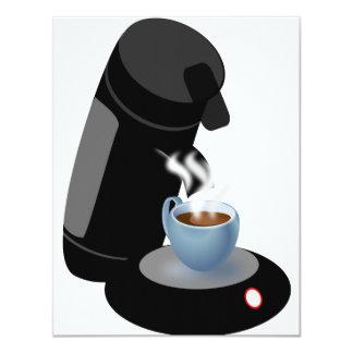 Coffee Machine Invitations