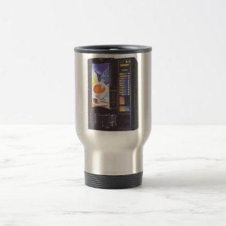 Coffee machine travel mug