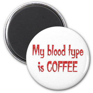 Coffee 2 Inch Round Magnet