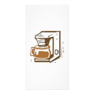 Coffee Maker Photo Card