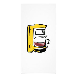 Coffee Maker Picture Card