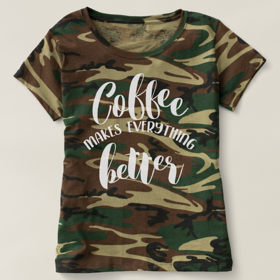 Coffee Makes Everything Better T-shirt - Best Selling Long-Sleeve Street Fashion Shirt Designs
