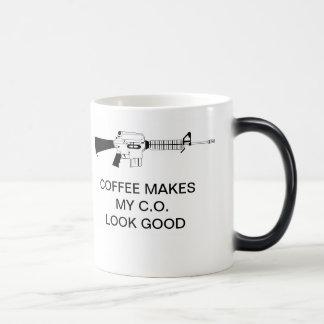 COFFEE MAKES MY C.O. LOOK GOOD MUGS