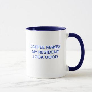 COFFEE MAKES MY RESIDENT LOOK GOOD MUG
