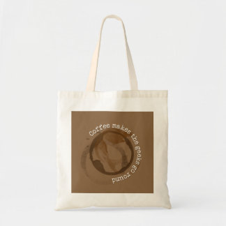 Coffee Makes The Geeks Go Round Tote Bag