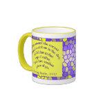 Coffee makes you happy! ringer coffee mug